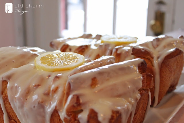 Lemon Pull Apart Bread, I want to play with this recipe...