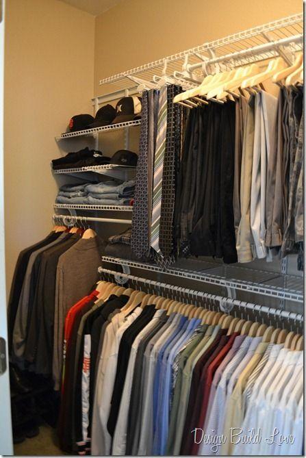 17 best ideas about man closet on pinterest mens closet. Black Bedroom Furniture Sets. Home Design Ideas