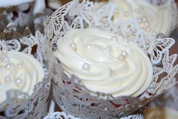 Wedding Red Velvet Cupcake