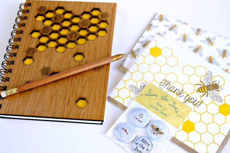 The Hive Box - The perfect gift for the bee and paper lover!
