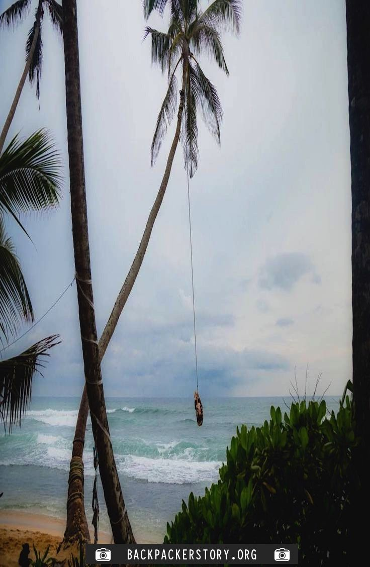 Complete guide to the Dalawella Beach Swing – Unatawuna, Sri Lanka