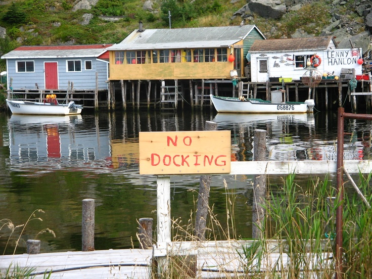 Quidi Vidi Harbour, Newfoundland