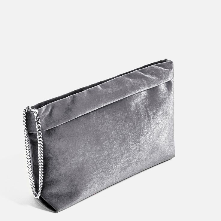 Image 3 of VELVET CLUTCH from Zara