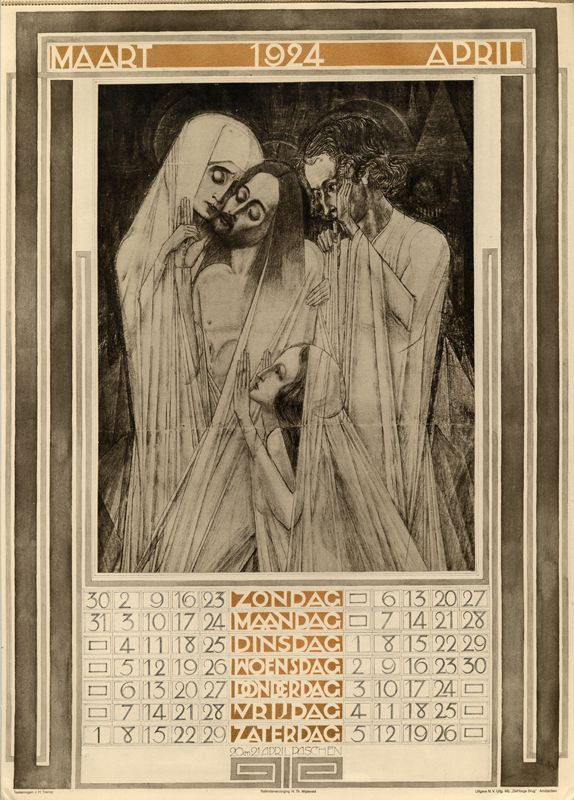 A Journey Round My Skull: Jan Toorop's 1924 calendar