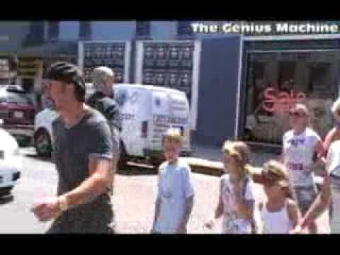 Shopping with Faith Hill & Tim Mcgraw and the kids