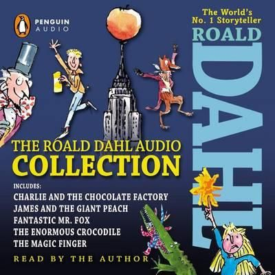 OMG, I want this!  The Roald Dahl Audio Collection $34.50