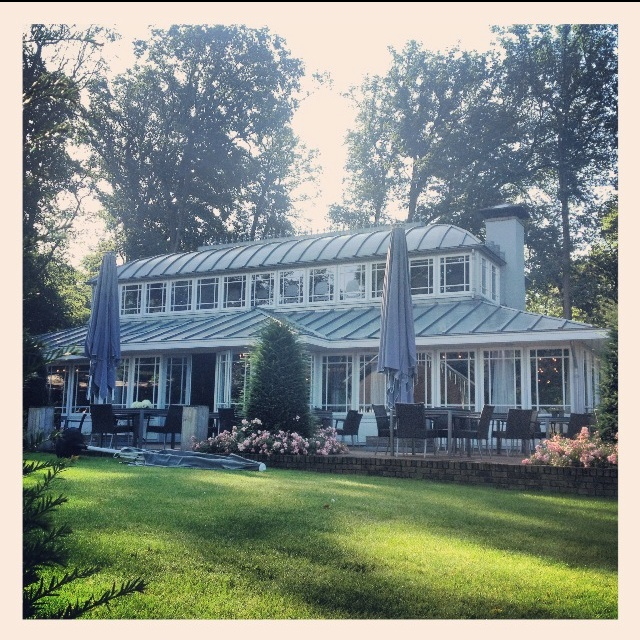 Restaurant The Hunting Lodge in Rozendaal - The Netherlands - lovely view, delicious food and a great atmosphere!