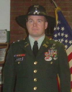 Army Chief Warrant Michael Slebodnik  Died September 11, 2008 Serving During Operation Enduring Freedom  39, of Gibsonia, Pa.; assigned to the 2nd Battalion, 17th Cavalry Regiment, 101st Combat Aviation Brigade, 101st Airborne Division (Air Assault), Fort Campbell, Ky.; died Sept. 11 at Bagram Airfield, Afghanistan, of wounds sustained near Forward Operating Base Nagil, Afghanistan, when the aircraft he was piloting received enemy fire.