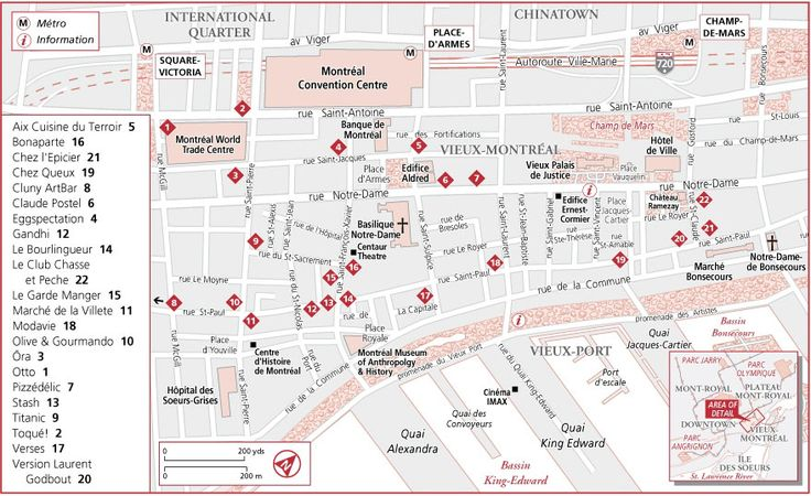 nice Montreal Map Tourist Attractions Travelquaz – Detroit Tourist Attractions Map
