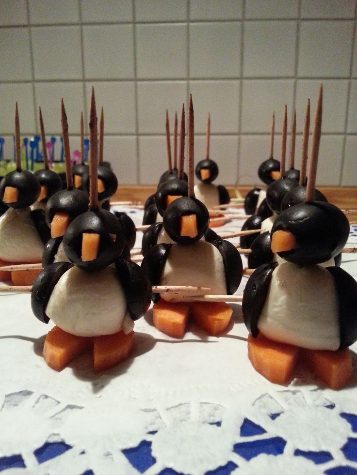 Silvester Buffet Pinguine