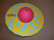 Vintage 1987 Hasbro Pogobal Pogo Ball Classic 80's Toy Yellow Blue Pink 1980's