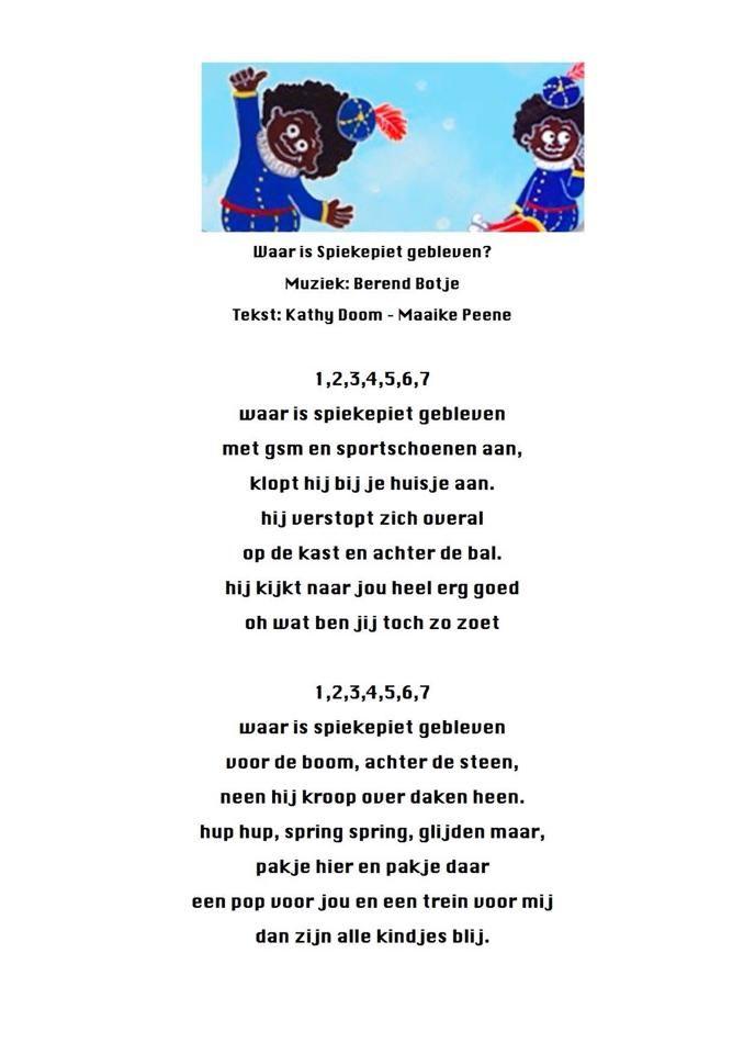 gedicht spiekpietjes