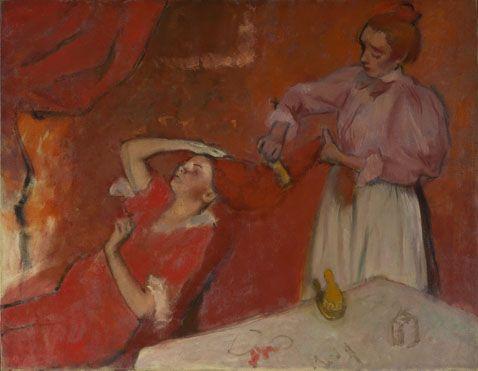 Combing the Hair ('La Coiffure')  about 1896, Hilaire-Germain-Edgar Degas