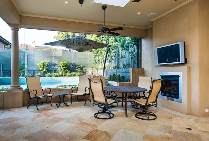 After a hard day, just sitting in the patio with a glass of wine or a bottle of beer is simply irresistible! Truly relaxing  #relaxing #patio #homebuilder #homedesign #Melbourne #AUS