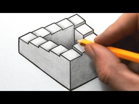Drawing Impossible Shapes - Optical Illusions (playlist)