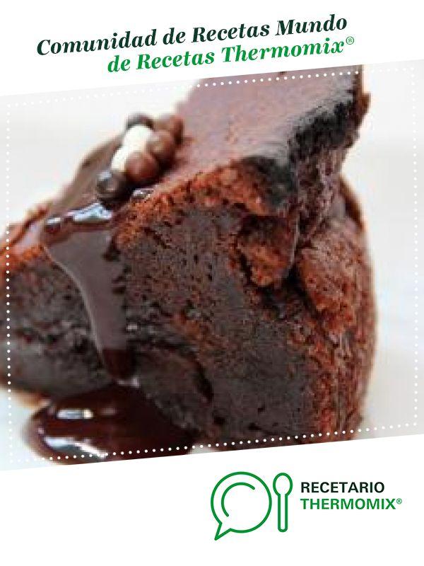 Muerte Por Chocolate Receta Muerte Por Chocolate Pastel De Chocolate Receta Brownie De Chocolate Thermomix