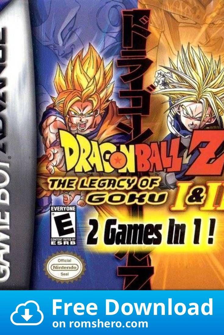 Download Dragonball Z The Legacy Of Goku 2 Gameboy Advance Gba Rom Dragon Ball Z Nintendo Game Boy Advance Legacy Of Goku 2