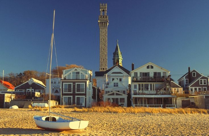 Provincetown at the tip of  Cape Cod.  The cutest place ever. It feels like you have reached a fairy- tale town.
