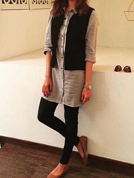 kurta with jacket style