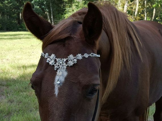 Faux Diamond Browband for Pony Horse or Draft  by MyBuddyBling