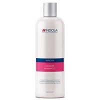 INDOLA COLOR SHAMPOO  De Indola Innova Color biedt een reeks aan producten die speciaal ontworpen zijn om de kleurintensiteit en haarconditie te bewaren. Deze shampoo is verrijkt met kostbaar edelsteenextract en een beschermend UV-filter die het haar afschermt tegen kleurvervaging en beschadiging van de haarstructuur voorkomt.