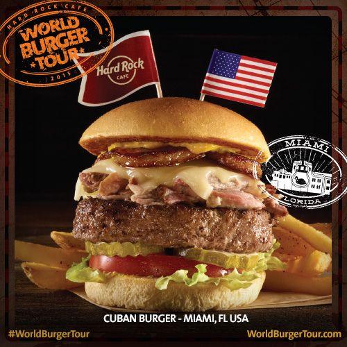 Cuban Burger - MIAMI, FL, EUA #WorldBurgerTour