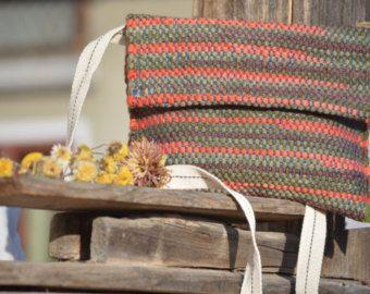 ANEMONA HANDWOVEN BAG crossbody bag small messenger bag handmade bag tote wool cotton woven manual -    Edit Listing  - Etsy