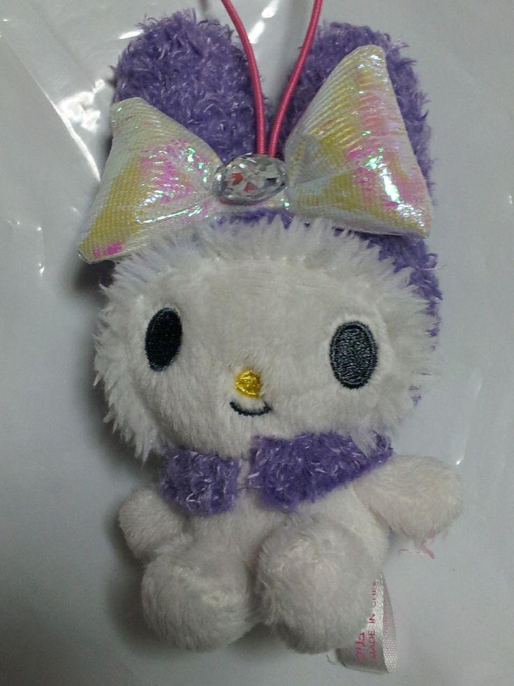 JPLand Stuff - Sanrio - My Melody Aurora Ribbon Plush Strap (Purple), $9.99 (http://www.jplandstuff.com/sanrio-my-melody-aurora-ribbon-plush-strap-purple/)