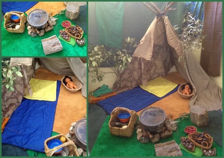 Camping role play by Teacher Mazz
