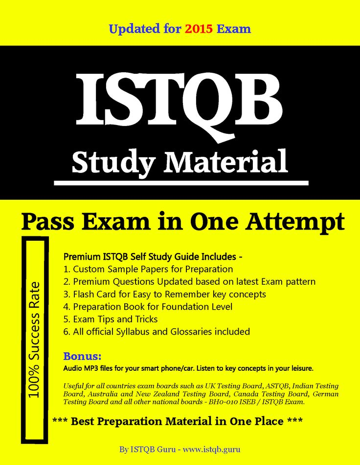 100% Sure Pass ISTQB Foundation level exam dumps 2014 prepared by ISTQB Guru for BH0-010. Get ISTQB Dumps 2015 with answers. ISTQB Sample Papers Questions & Answers online.