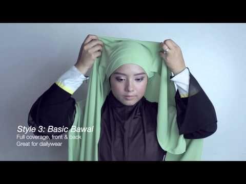 TUDUNGPEOPLE: 5 Hijab Styles Under 5 Minutes - YouTube