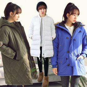 Gmarket - 100/Field Jacket/Padding/Coat/Big Size