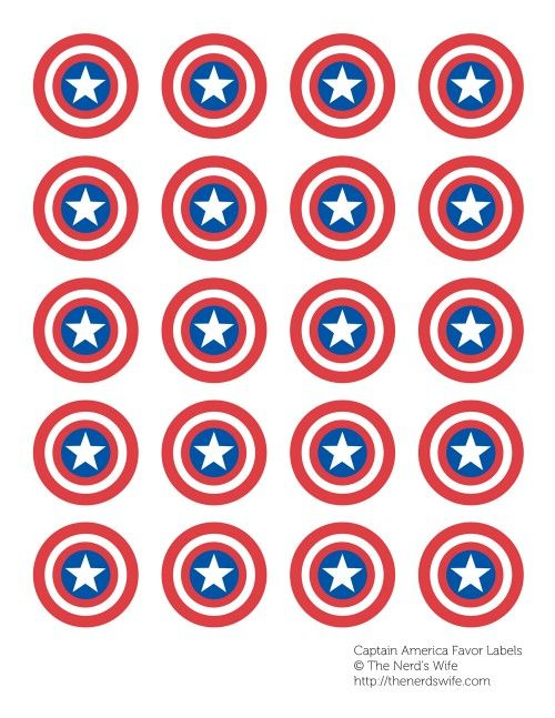 How to Host a Captain America Party #HeroesEatMMs #Shop