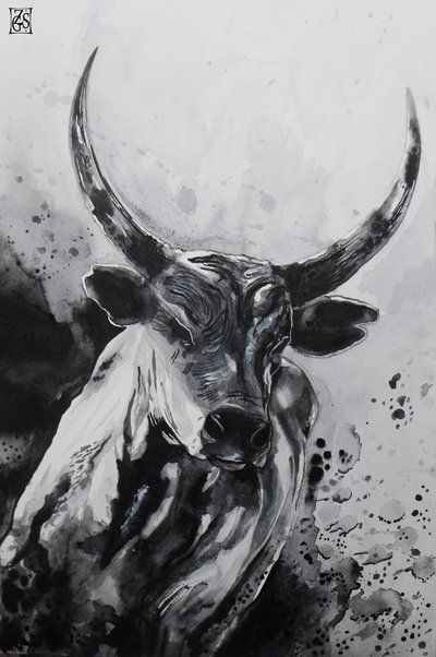 The bull by Zsil-works.deviantart.com on @deviantART