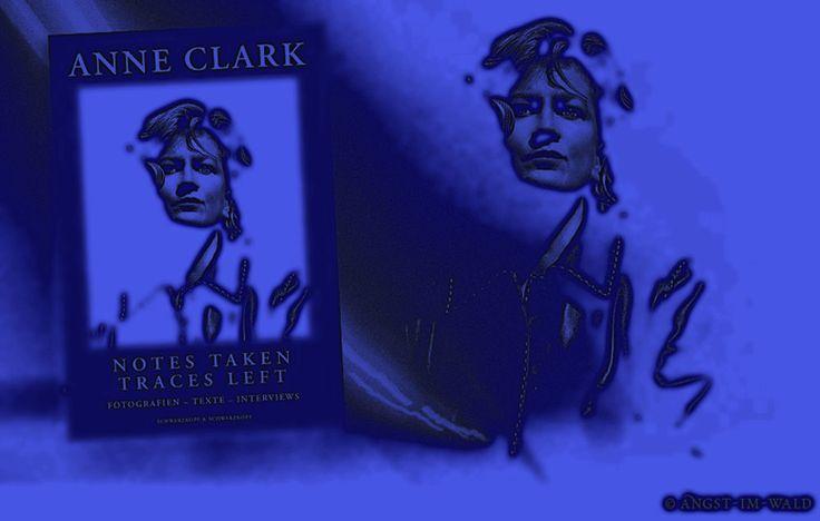 ANNE CLARK: (Croydon, 14 mei 1960) is een Britse dichteres en avant-gardistische muzikante uit het gesproken woord-genre. Ze begon zelf met teksten en muziek te experimenteren en trad voor het eerst samen met Depeche Mode op; in 1982 bracht ze haar eerste album uit, The Sitting Room. Voor de albums Changing Places, Joined Up Writing en Hopeless Cases werkte ze samen met toetsenist David Harrow.