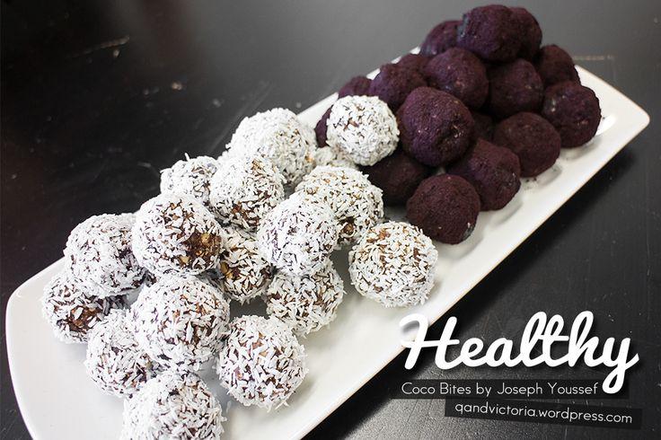 Healthy Coco Bites by Joseph Youssef. | qandvictoria.wordpress.com