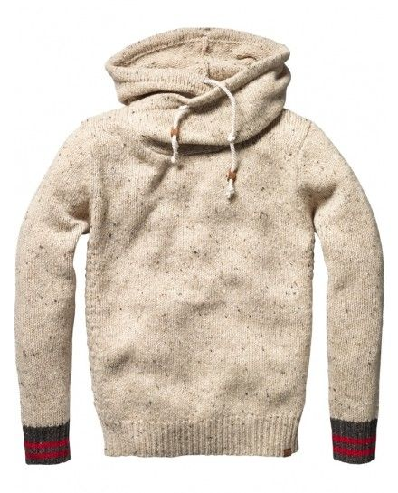 I think this sweater comes with a cup of hot chocolate and a warm fireplace