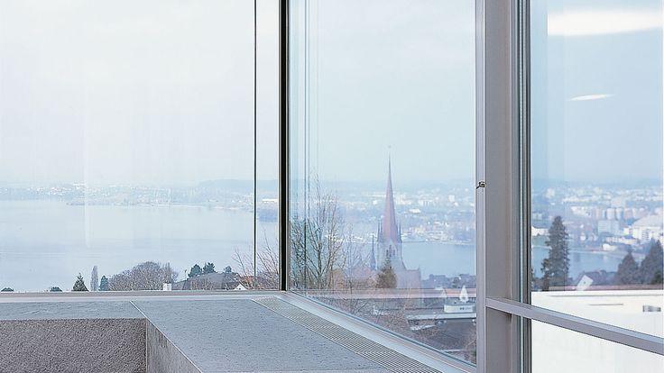 Hochhaus mit Schiebefenster-Fassade von air-lux. #architektur