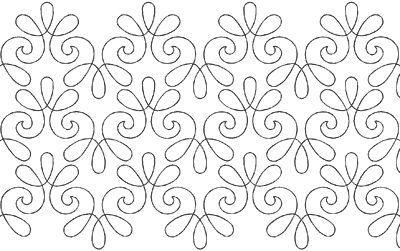 Chantilly Lace - Longarm Quilt Pattern