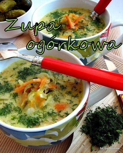 Smaczna Pyza: Zupa ogórkowa