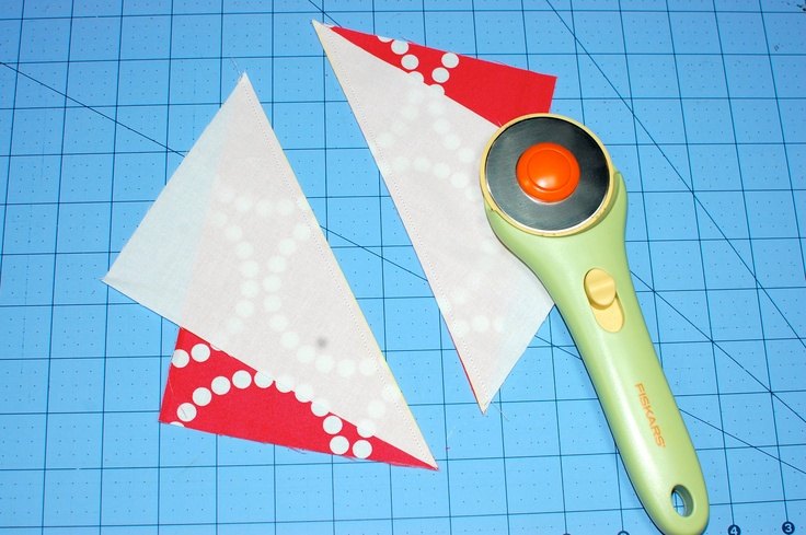 Half Rectangle Triangle Tutorial - so easy!