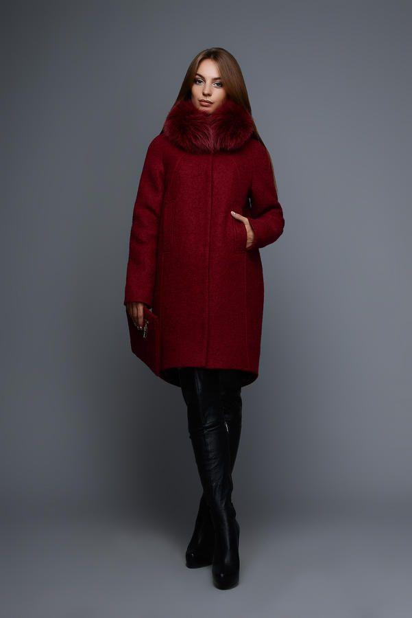 Зимнее пальто LS-8683 Бренд: X-Woyz Материал: Шерсть букле Длина изделия…