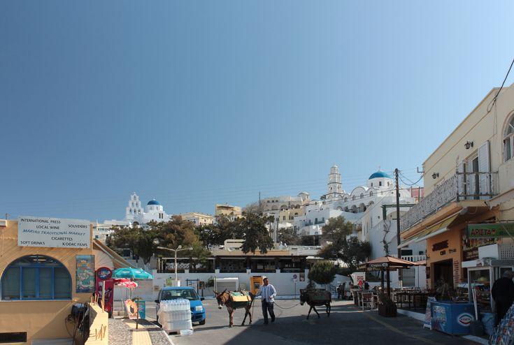 A street of Pyrgos