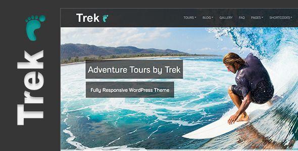 Trek - Responsive WordPress Tour/Travel Theme