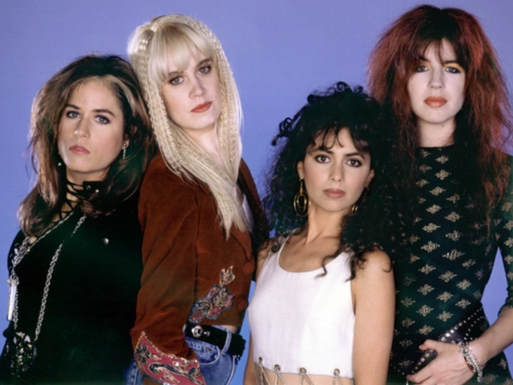The Bangles were a female rock band in the 80's.