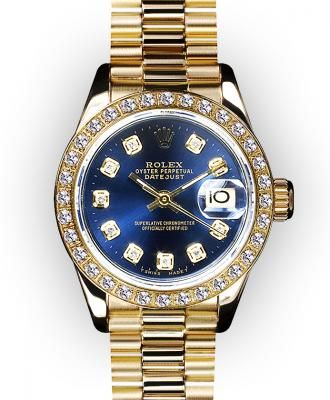 ♛ Rolex 18k Gold / Diamonds ♛