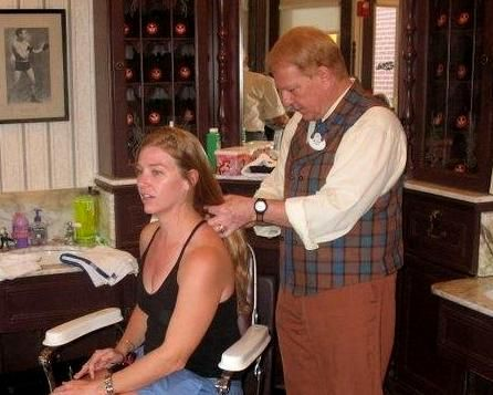 Harmony Barber Shop haircut
