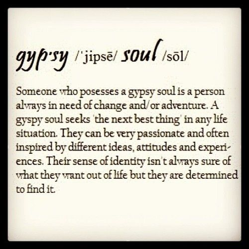 the gypsy soul