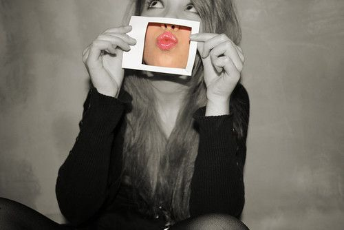 Love this! I'd do it with a heart over my eye! You can do this with #PictureEffectMagic