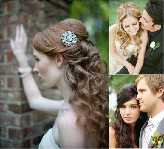 Wedding Hairstyle With Hair Extensions: 17 Best Images About Wedding Hairstyles On Pinterest